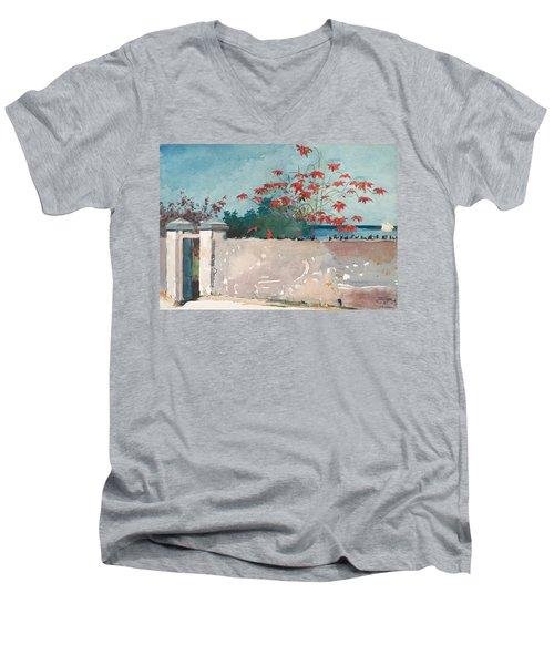 Nassau Bahamas Men's V-Neck T-Shirt