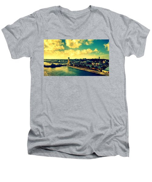 Nassau The Bahamas Men's V-Neck T-Shirt