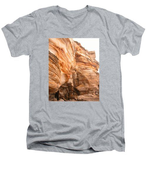 Natural Rock Men's V-Neck T-Shirt