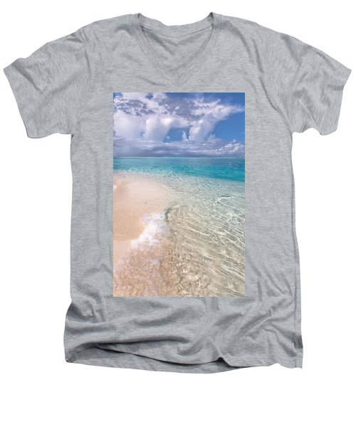 Natural Wonder. Maldives Men's V-Neck T-Shirt