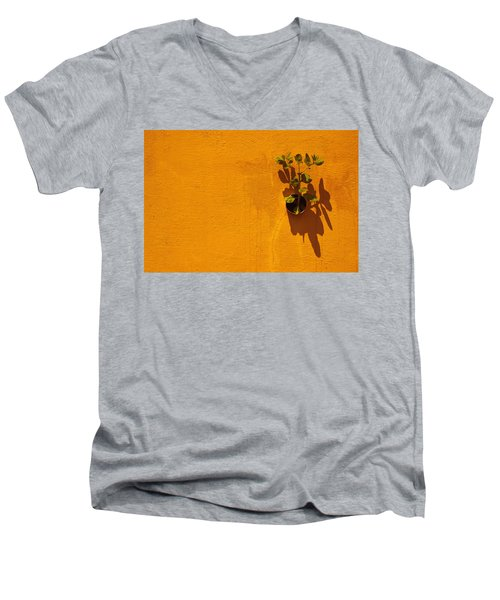 Nature Don't Stop II Limited Edition 1 Of 1 Men's V-Neck T-Shirt