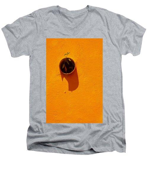Nature Don't Stop Men's V-Neck T-Shirt