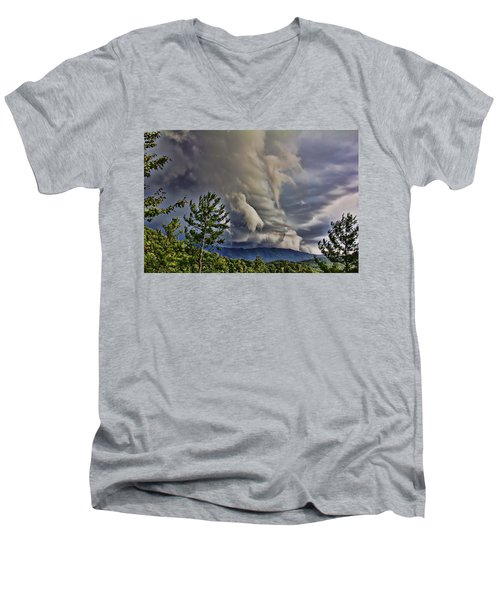 Nature Showing Off Men's V-Neck T-Shirt