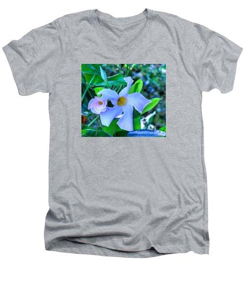 Flower 14 Men's V-Neck T-Shirt