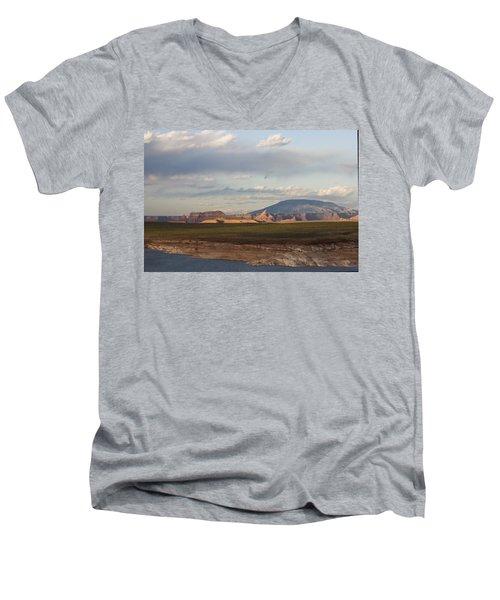 Navajo Mountain View Men's V-Neck T-Shirt