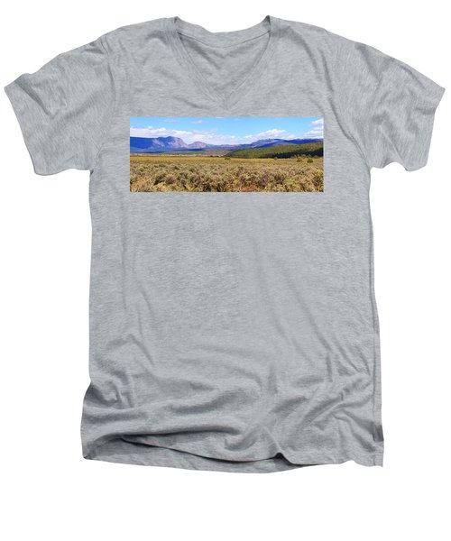 Near Chama New Mexico Men's V-Neck T-Shirt