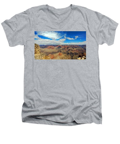Near Perfect Day Men's V-Neck T-Shirt