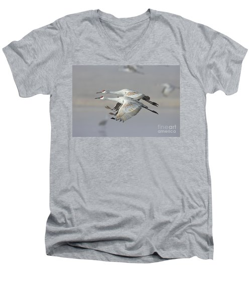 Neck N Neck Men's V-Neck T-Shirt