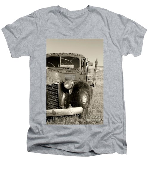 Needs Gas By Diana Sainz Men's V-Neck T-Shirt