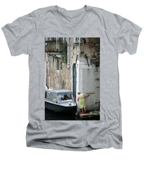 Neighbourhood Watch Men's V-Neck T-Shirt