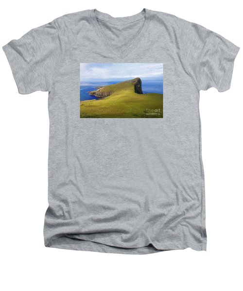 Neist Point  Men's V-Neck T-Shirt