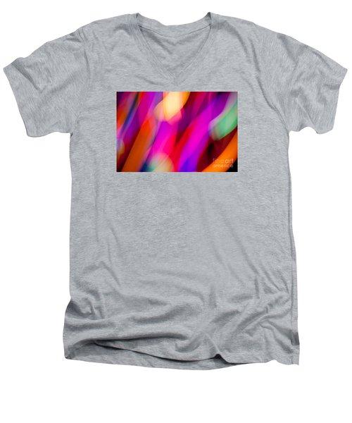 Neon Dance Men's V-Neck T-Shirt