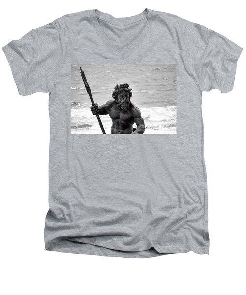 Neptune Men's V-Neck T-Shirt