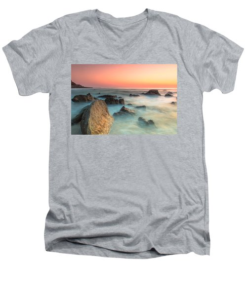Neptune Lands Men's V-Neck T-Shirt