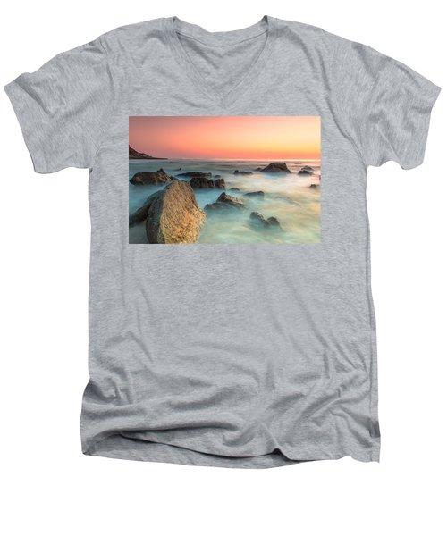 Neptune Lands Men's V-Neck T-Shirt