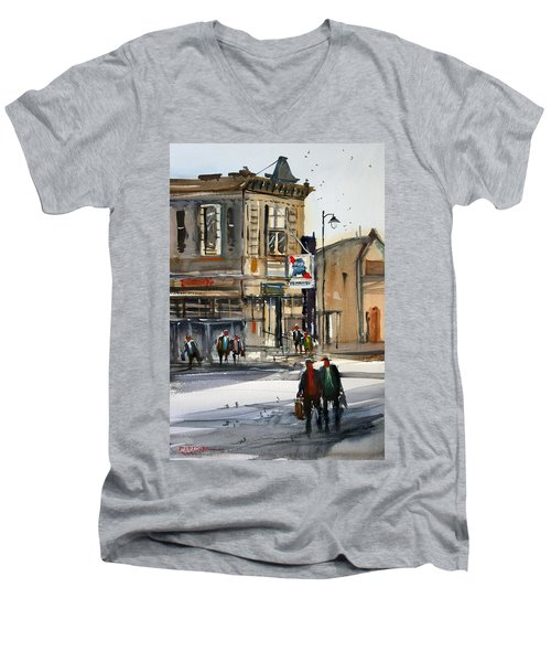 Neshkoro Tavern Men's V-Neck T-Shirt