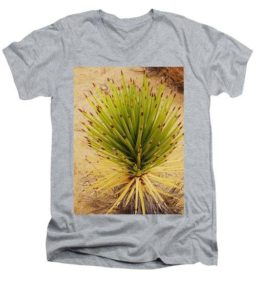 New Beginning   Men's V-Neck T-Shirt by Angela J Wright