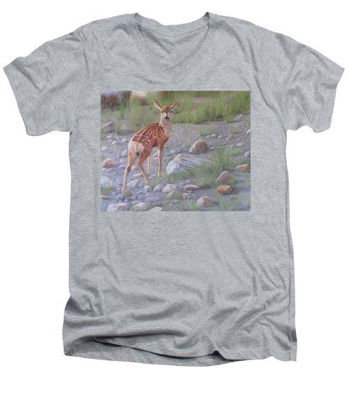 New Beginnings 2 Men's V-Neck T-Shirt