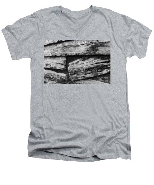 New Direction Men's V-Neck T-Shirt