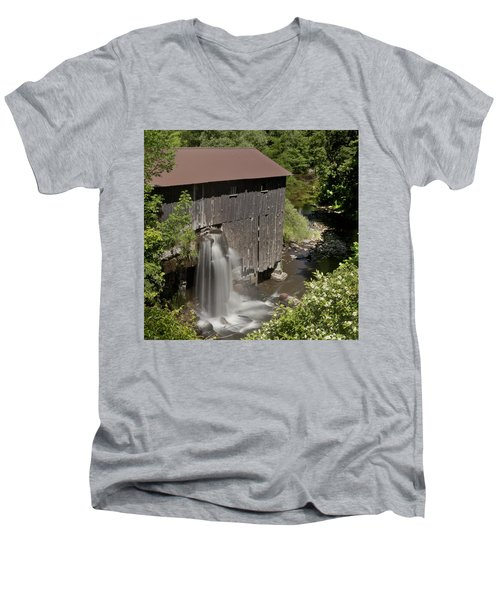 New Hope Mills  Men's V-Neck T-Shirt