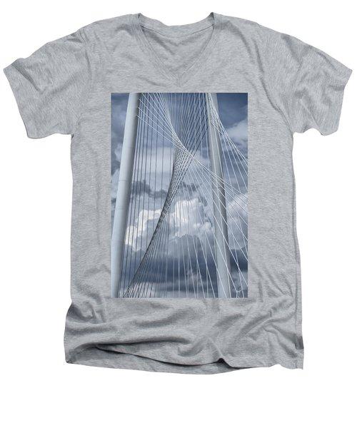 New Skyline Bridge Men's V-Neck T-Shirt