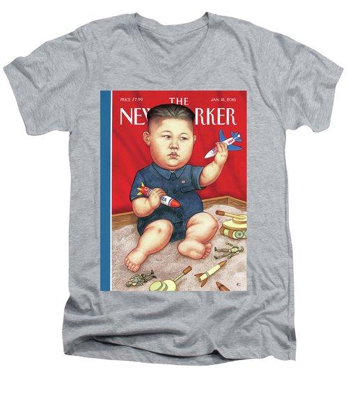 New Toys Men's V-Neck T-Shirt
