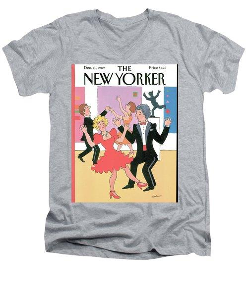 New Yorker December 11th, 1989 Men's V-Neck T-Shirt