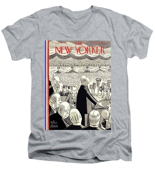 New Yorker June 22 1940 Men's V-Neck T-Shirt
