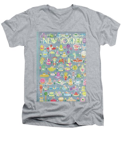 New Yorker May 15th, 1965 Men's V-Neck T-Shirt
