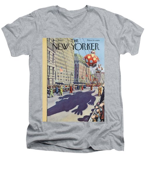 New Yorker November 29th, 1952 Men's V-Neck T-Shirt