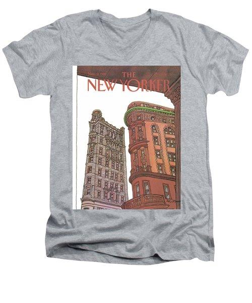 New Yorker November 9th, 1981 Men's V-Neck T-Shirt