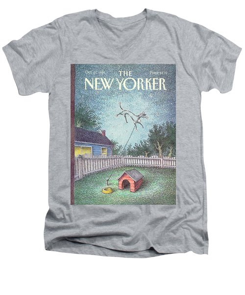 New Yorker October 21st, 1991 Men's V-Neck T-Shirt