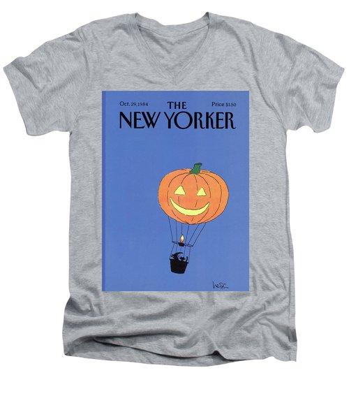 New Yorker October 29th, 1984 Men's V-Neck T-Shirt