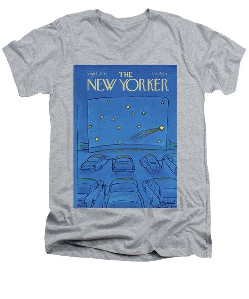 New Yorker September 11th, 1978 Men's V-Neck T-Shirt