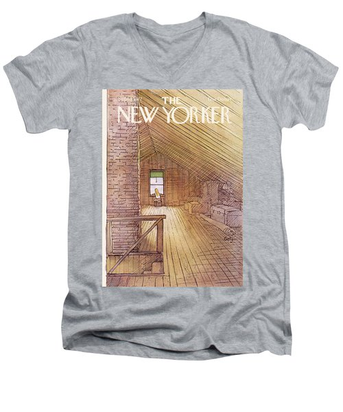 New Yorker September 5th, 1977 Men's V-Neck T-Shirt