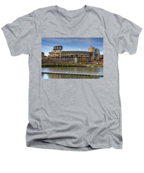 Neyland Stadium Men's V-Neck T-Shirt
