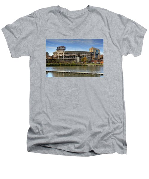 Neyland Stadium Men's V-Neck T-Shirt