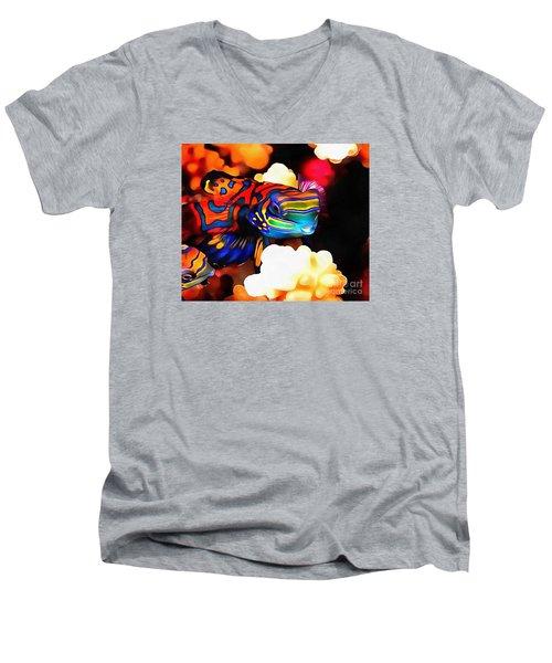 Nike  Men's V-Neck T-Shirt