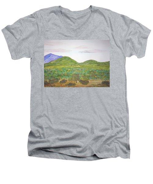 Nm Hills Men's V-Neck T-Shirt