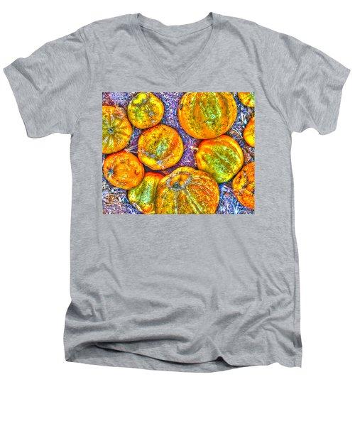 Noisy Lemon Cucumbers Men's V-Neck T-Shirt