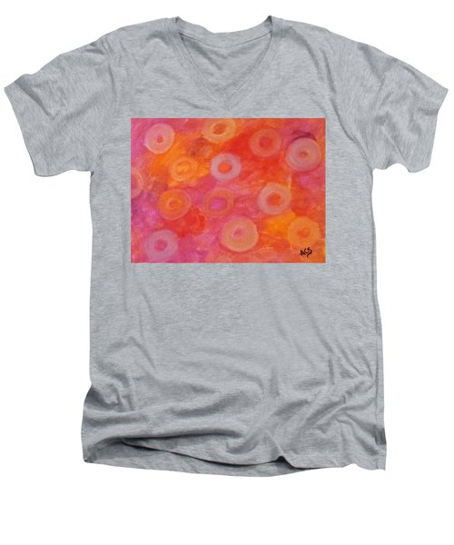 Normochromic Rbc's Men's V-Neck T-Shirt
