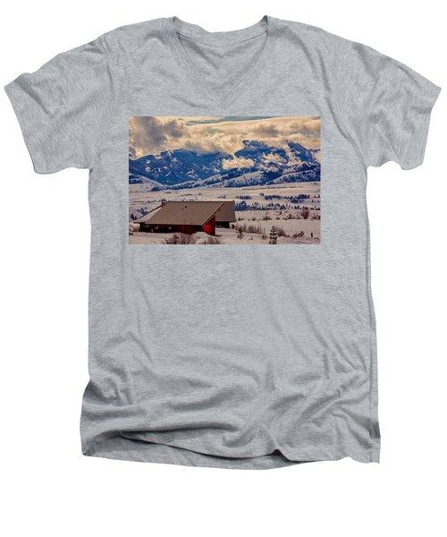 North Cascades Mountain View Men's V-Neck T-Shirt