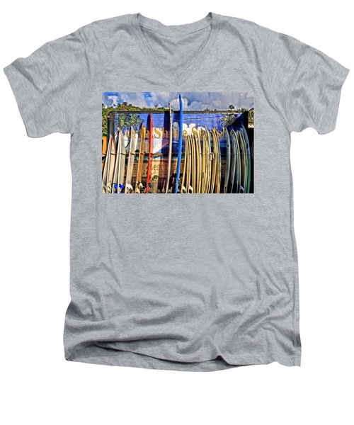 North Shore Surf Shop Men's V-Neck T-Shirt