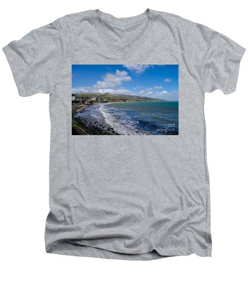 Northern Ireland Coast Men's V-Neck T-Shirt