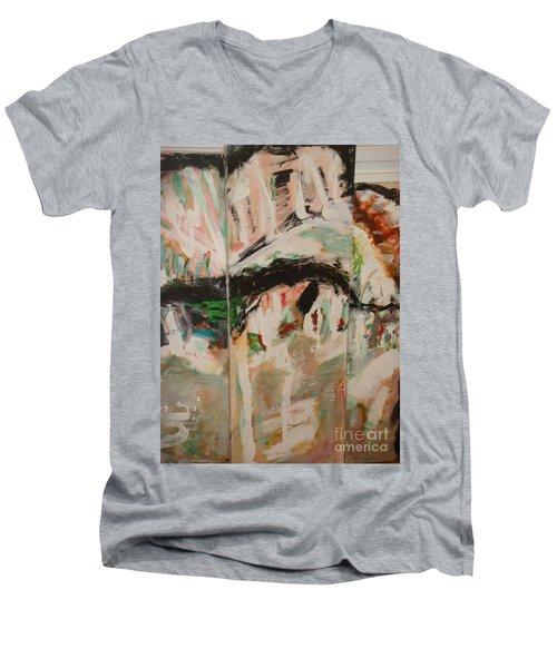 Nostalgies Of Venice Men's V-Neck T-Shirt