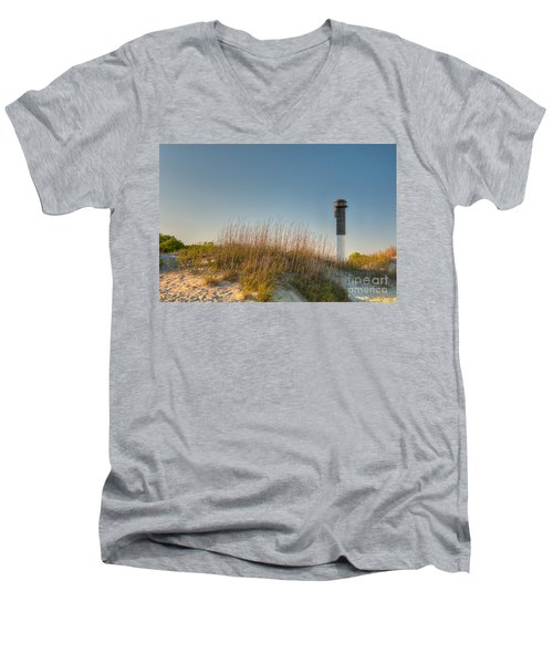 Not A Cloud In The Sky Men's V-Neck T-Shirt