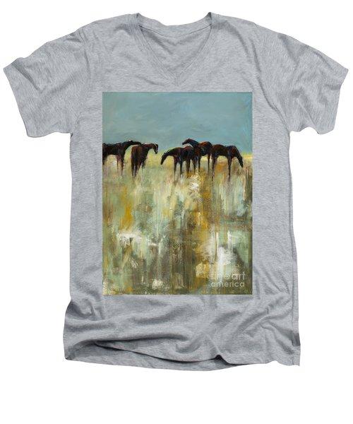 Not A Cloud In The Sky Men's V-Neck T-Shirt