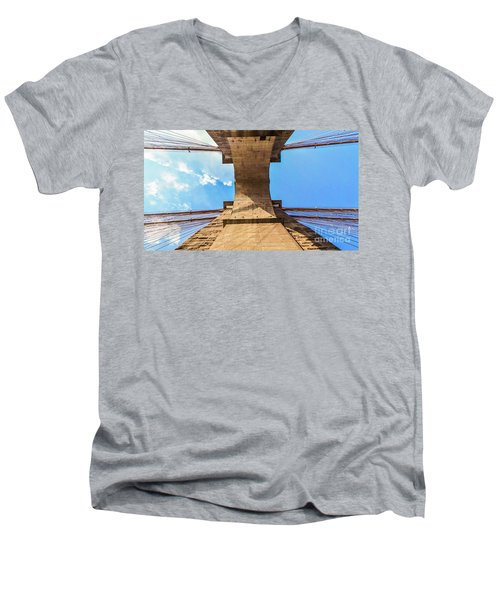 Nothin But Blue Skies Brooklyn Men's V-Neck T-Shirt