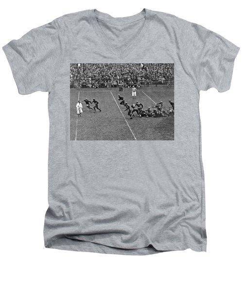 Notre Dame Versus Army Game Men's V-Neck T-Shirt