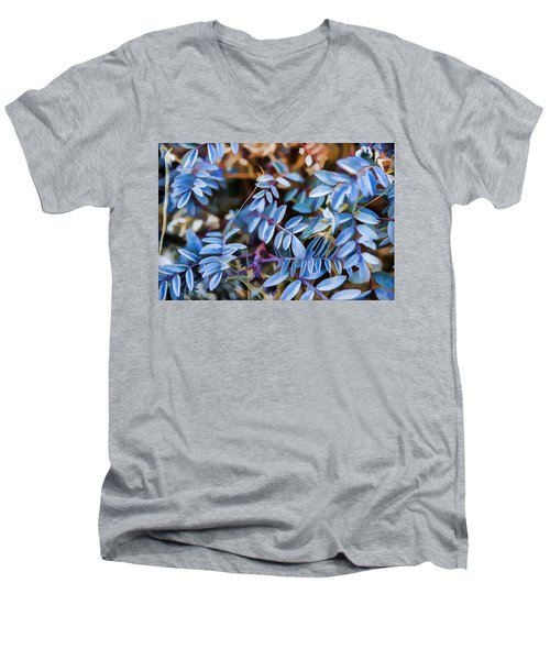 Now Thats Blue Men's V-Neck T-Shirt
